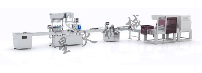 隐形眼镜护理液灌装机生产线-全自动隐形眼镜护理液灌装机械设备
